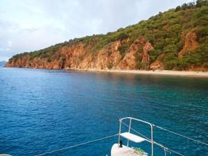 Norman Island snorkeling area