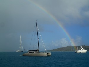 Rainbow over $3M+ Gunboat