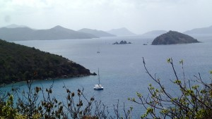 Another view of Blue Sky in Benures with the Indians, St. John and Tortola in the distance