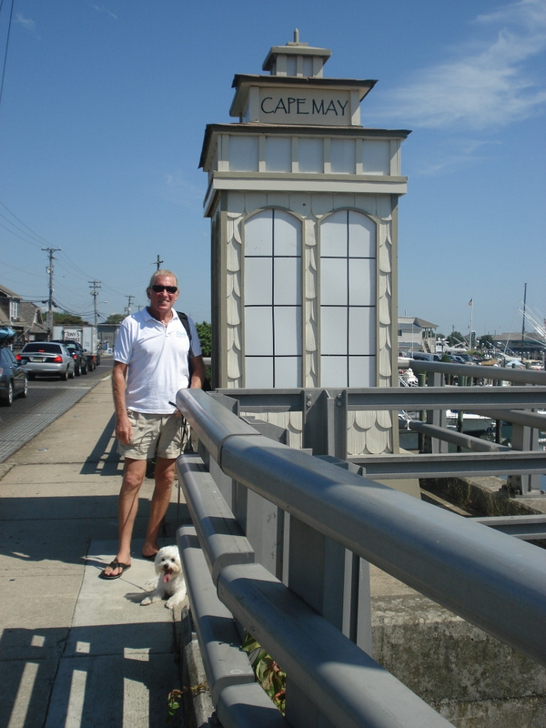 OK, so a classic shot on the bridge into Cape May