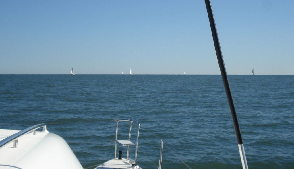 Dawgs departing the Chesapeake heading for the BVI