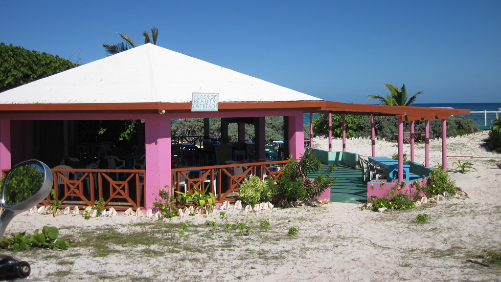 Beach Bar where near where we hung out at Loblolly Bay (photo courtesy of Chill)