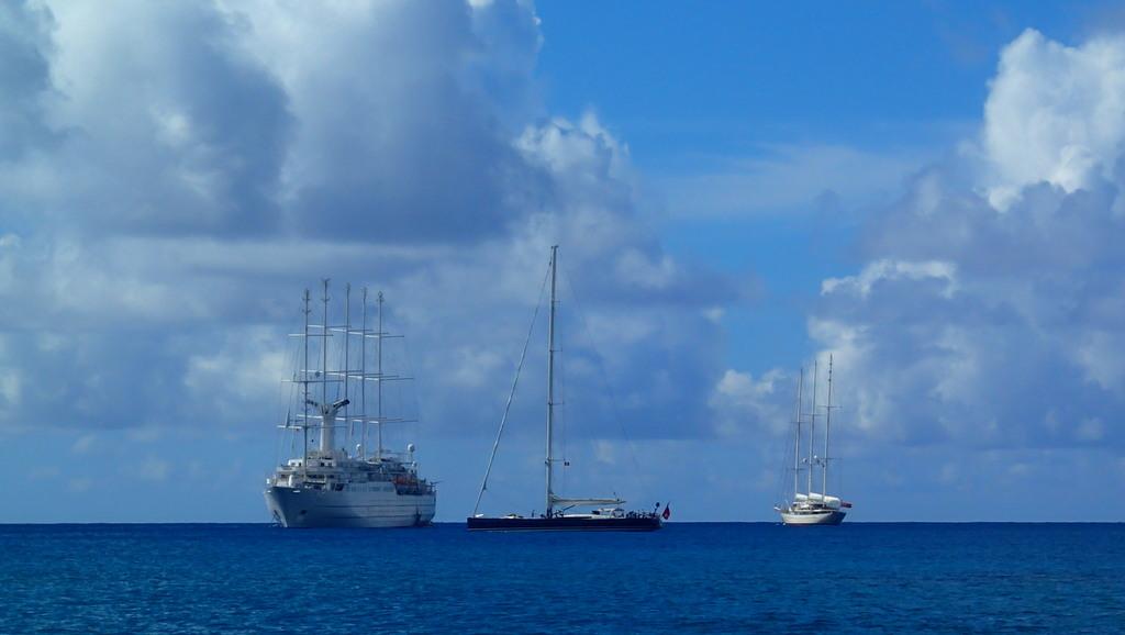 Beautiful ships outside Falmouth