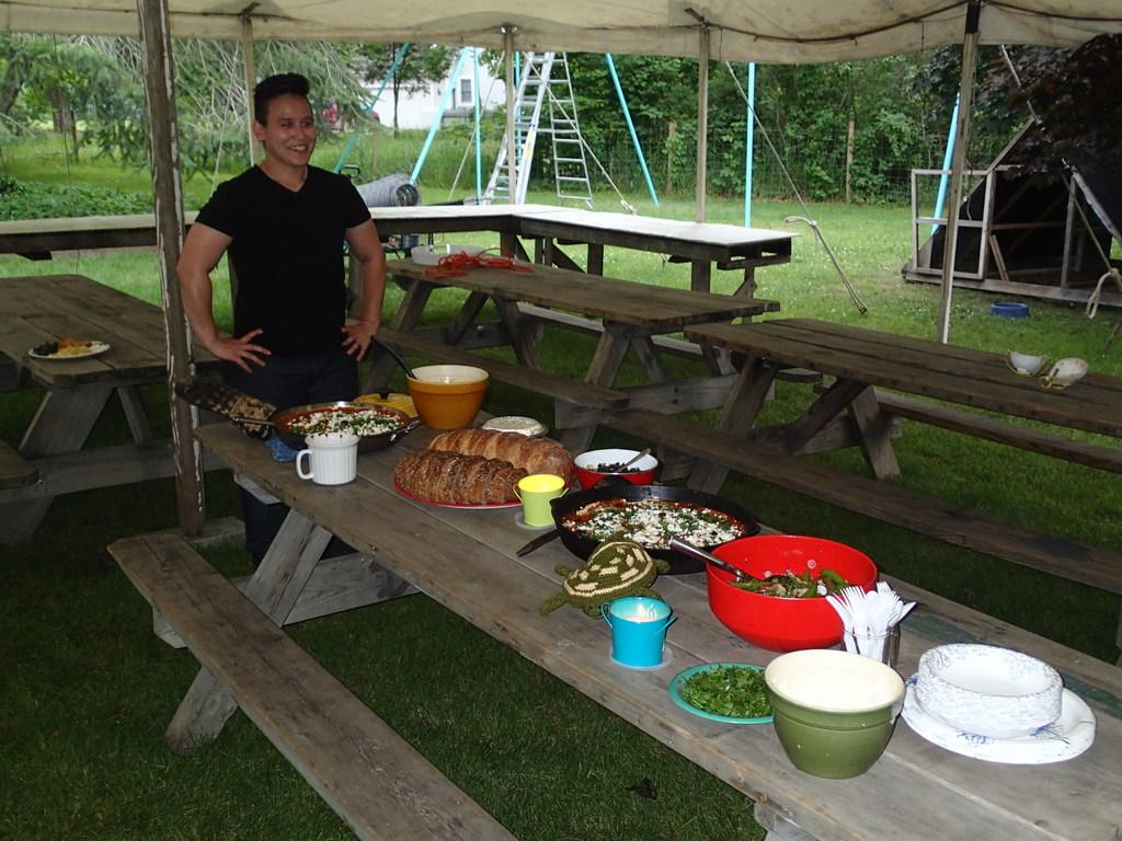 Noah - cook extraordinaire
