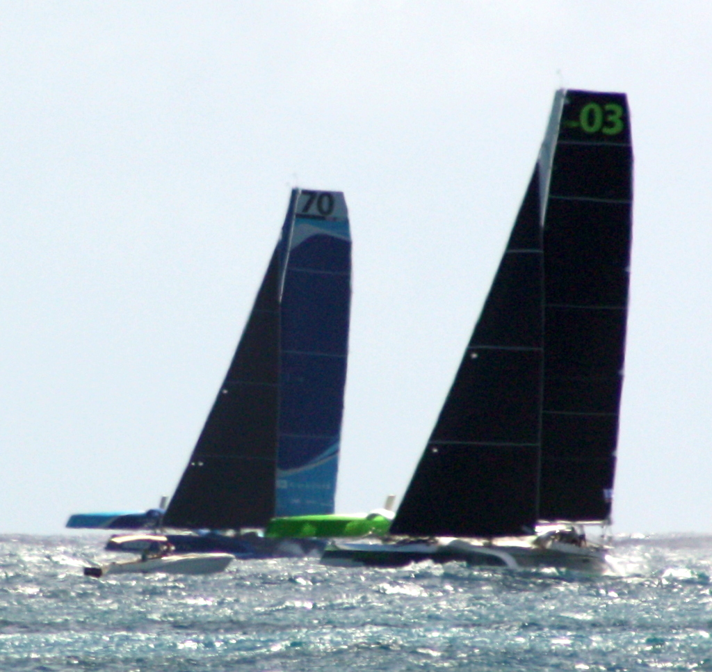 Phaedo 3 and Concise neck and neck from beginning to end